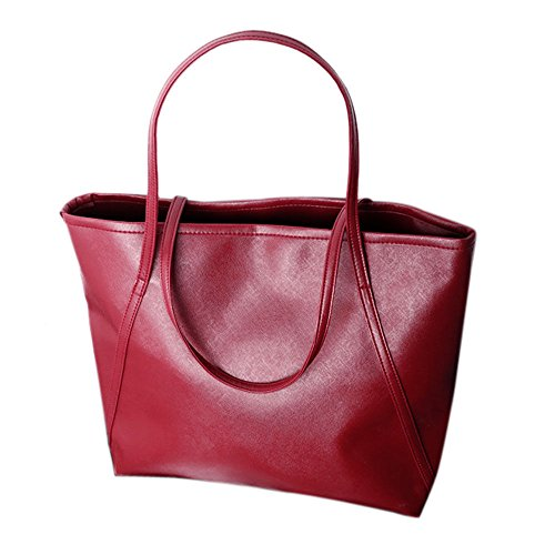 JD Million shop simple leather women increased Messenger Bags Shopping Bag - Laurent Saint Bag Shopping