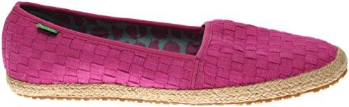 Sanuk Mujeres Basket Case Loafer Vivid Violet