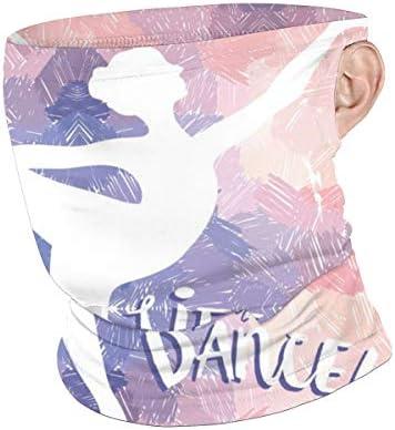 フェイスカバー Uvカット ネックガード 冷感 夏用 日焼け防止 飛沫防止 耳かけタイプ レディース メンズ Life Is Better When You Dance