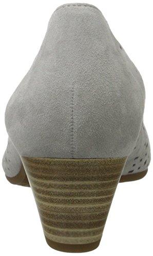 Gabor Damen Bombas De Confort, Grau Blau (gris Claro 39)