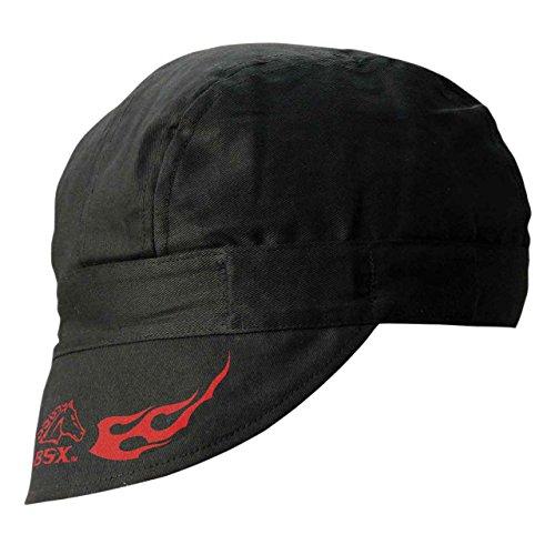 Cotton Welding - Revco REVCO - BC5W-BK Armor Cotton Welding Cap, 100% Cotton Double Layer Protection