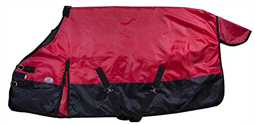Derby Originals Horse Winter Stable Insulated Blanket, Red, 69