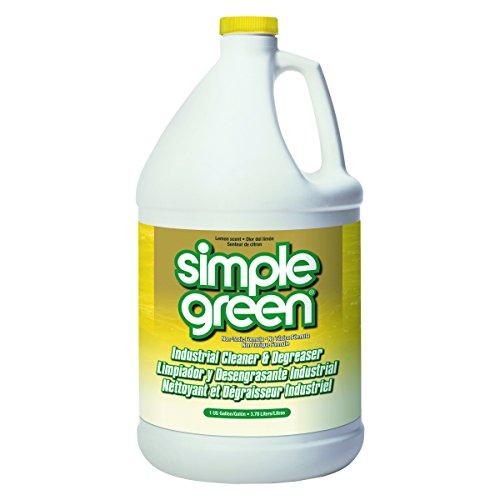 Simple Green 73434010 14010 Industrial Cleaner & Degreaser, Concentrated, Lemon, 1 gal Bottle Scent 1 Gallon Bottle