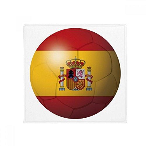 DIYthinker Spain National Flag Soccer Football Anti-slip Floor Pet Mat Square Bathroom Living Room Kitchen Door 60/50cm Gift by DIYthinker