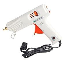 MicroMall(TM) 100-240V BEST B-F 100W Professional Adjustable Constant Temperature Hot Melt Glue Industrial Heater Gun US Standard White