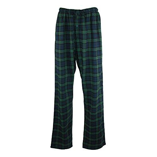 Hanes Green Para Plaid Pijama Hombre Navy Cuadrados RfOrABZR
