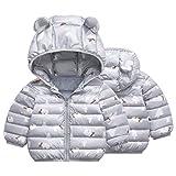 Franterd Baby Girls Boys Winter Jacket Hooded