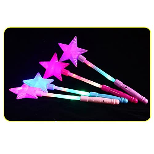 led star wand toyfashionclubs light up flashing star fairy wand glow sticks handhelds luminous