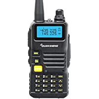 Quansheng UV-R50 Rechargeable Dual Band Two Way Radio Walkie Talkie