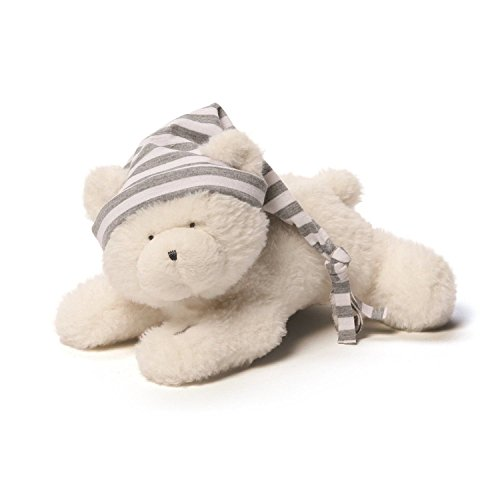 GUND Baby Oh So Soft Sleepytime Bear, Cream