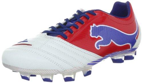 FG PowerCat 05 1 102470 Red Puma Weiss limoges White Sportschuhe Fußball 12 Herren ribbon xt1qnwB