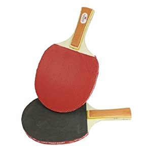 sourcingmap® Outdoor Freizeit Ping Pong Paddel Tischtennisschläger Schläger...
