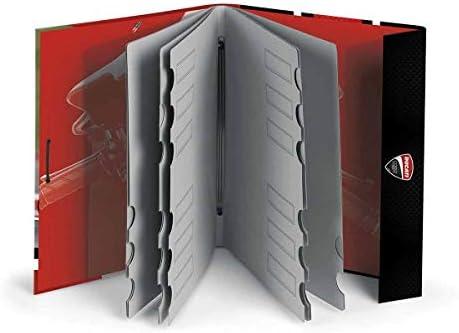 Dis2 - Carpeta clasificadora ducati rojo: Amazon.es: Oficina y papelería