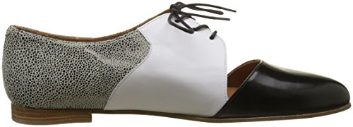Black EU White Calf para and Zapatos Derby and Cordones Emma Mujer Go Casey Cordoban 41 Boa Noir de qOwxBvT