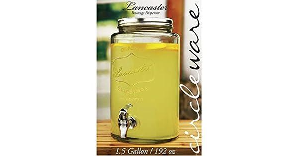 Amazon.com: Circleware 92004 dispensador de bebidas de ...