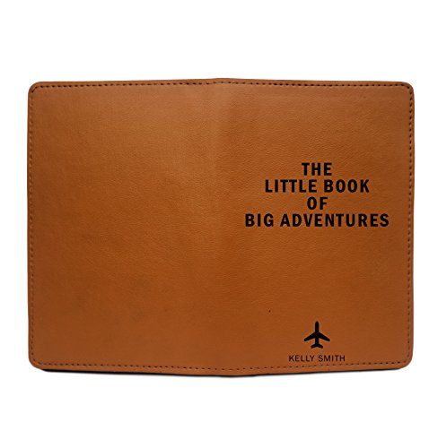 Personalized Leather Passport Cover Wallet - The Little Book Of Big Adventures by With Love From Julie (Image #3)