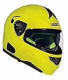 Vega Summit 3.1 Modular Full Face Helmet (Hi-Vis Yellow, XX-Small)