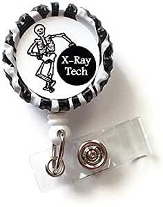Christmas id badge tag UltraSound Technician badge reel id badge reel medical field ultra sound badge reels badge reel medical gift