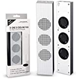 Florencinid para Xbox One S Ajustes Cooling Fans Cooler para Xbox One Slim Gaming Console Blanco