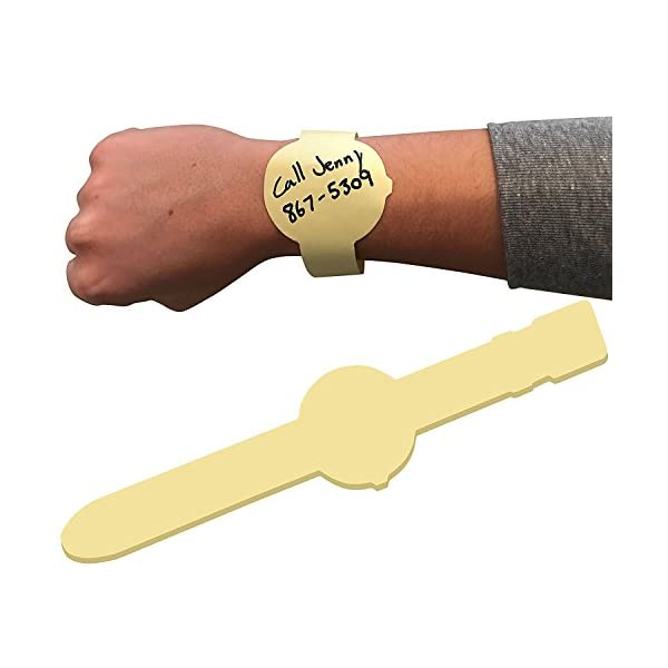 post-it reloj pulsera