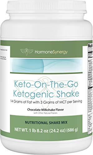 Ketogenic Shake | Keto-On-The-Go | Chocolate Milkshake | 14