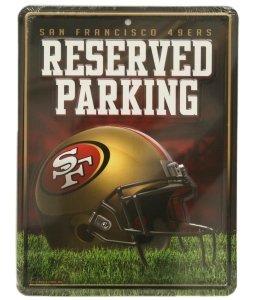 San Francisco 49ers Metal Parking Sign ()