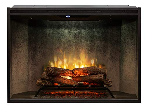 Cheap DIMPLEX RBF42WC Revillusion 8794 BTU / 2575W 42 Inch Wide Built-in Vent-Free Electric Fireplace with Weathered Concrete Interior and Remote Control Black Friday & Cyber Monday 2019