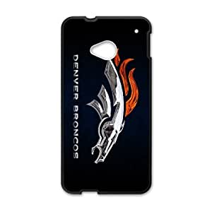Unique Disigned Phone Case With Denver Broncos Image For HTC One M7