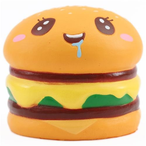 Mae Mali 1 pcs Jumbo slow rising Squishy Hamburgers toy. Jumbo Food Squishy, Toys For Kids and Adults - Zombie Zoo Keeper Costume