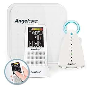 Angelcare Movement and Sound Monitor Deluxe Plus, Aqua/White