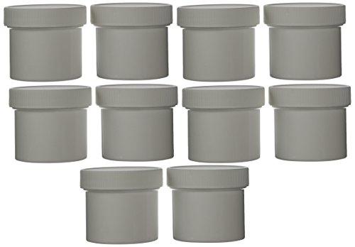 plastic 2 oz jars with lids - 4
