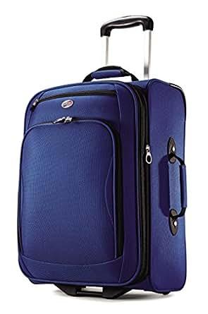 "American Tourister Luggage Splash 21"" Upright Suitcase (21"", True Blue)"