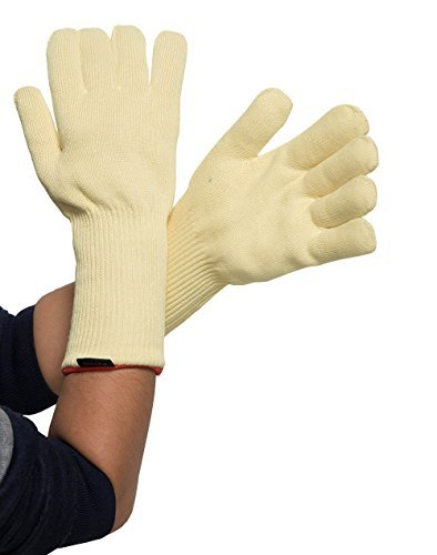 Professional Kevlar Cut Resistant Knitted Gloves Profeassional Flame and Heat Resistant Oven Glove 500-750 Degree