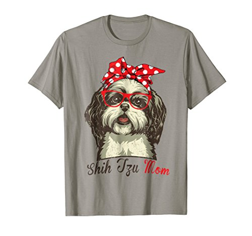 Funny Shih Tzu Mom Shirt for Dog Lovers-Mothers Day Gift ()