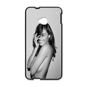 HTC One M7 Cell Phone Case Black_he68 monika clarke model sexy dark art Eevke