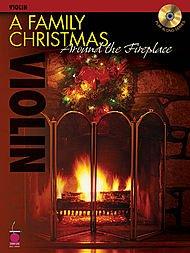A Family Christmas Around the Fireplace-Violin