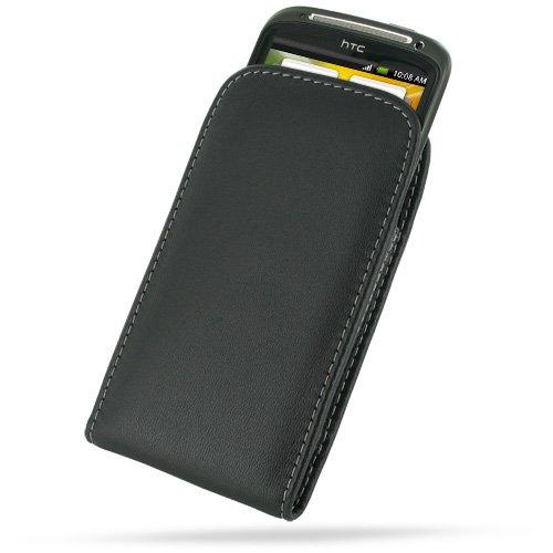 HTC PDair V01 Black Leather Case for Sensation 4G Z710e Sensation XE