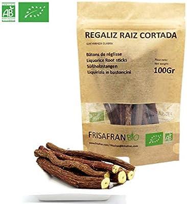 FRISAFRAN - Regaliz de palo Ecologico certificado (100Gr): Amazon ...