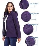 TACVASEN Active Windproof Softshell Jackets Womens