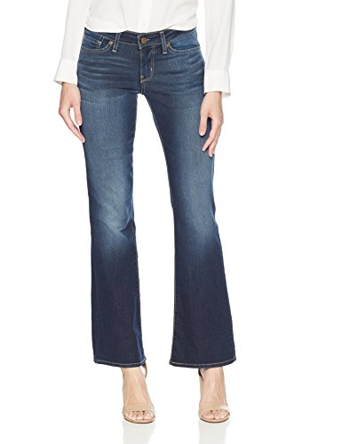 Signature by Levi Strauss & Co. Gold Label Women's Modern Bootcut Jean, Stormy Sky, 8 Long