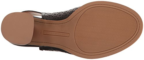 Tommy Women's Sandal Black True Heeled Hilfiger 660qrwv