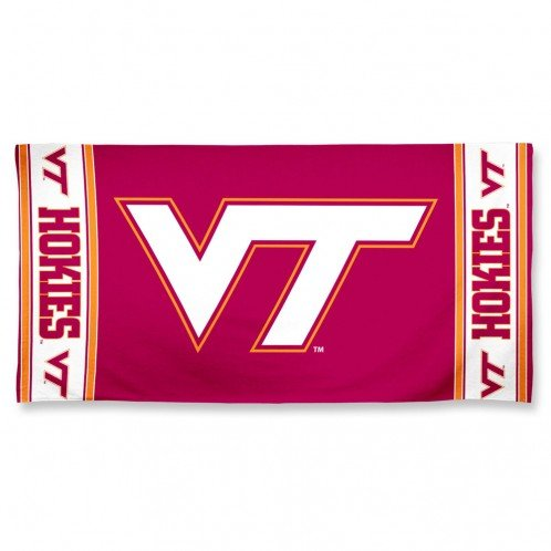 NCAA Virginia Tech Hokies 30'' x 60''Beach Towel
