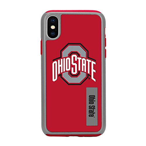 Forever Collectibles iPhone X Dual Hybrid Impact Licensed Case - NCAA Ohio State by Forever Collectibles