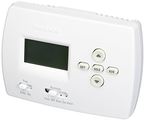 Honeywell TH4210D1005 Electronic Programmable Thermostat with Pullout Instructions