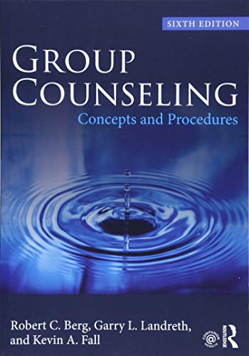 Group Counseling (Volume 1)