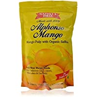 Nature's First 100% Alphonso Mango Pulp with No Added Sugar/Preservatives, 1.5 kg