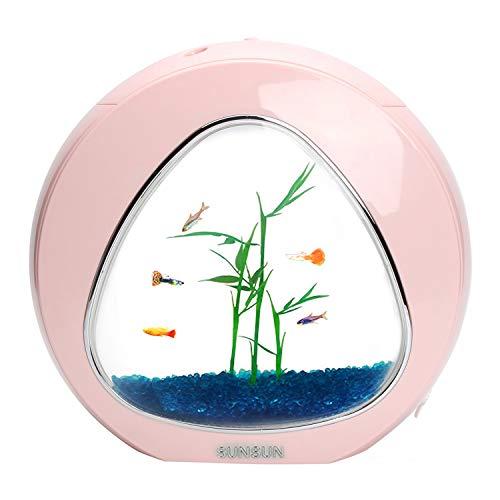 Venus Aqua Sunsun Mini Aquarium Fish Tank All in One Table Top Acrylic Fish Tank Gift Pack (YA-01, Size: 29x15x26.5 cm…