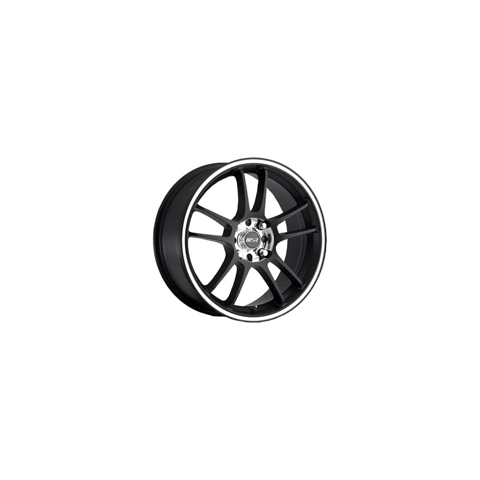MSR 43 17 Black Wheel / Rim 4x100 & 4x4.5 with a 35mm Offset and a 72.64 Hub Bore. Partnumber 4388701