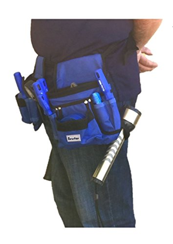 BRUFER 210412 Multi-tool Pouch Belt Tool Holder Organizer for Tools with 26 Pockets, 2 Hammer Loops and 1 Measuring Tape Holder by BRUFER Quality Products (Image #2)