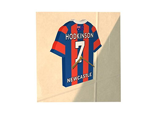dec320cb9aa MyShirt123 NRL AUSTRALIA - NATIONAL RUGBY LEAGUE JERSEY CLOCK - ANY NAME & ANY  NUMBER - NEW ACRYLIC SHIRT DESIGN !!! (Newcastle Knights NRL Jersey Clock):  ...